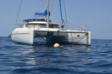 Fountaine Pajot Bahia 46 :Guadeloupe anchorage